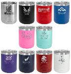 Personalized color beverage tumbler mug.